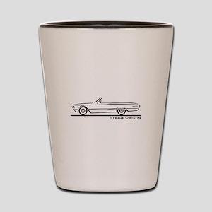 1966 Ford Thunderbird Convert Shot Glass