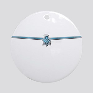66 T Bird Emblem Ornament (Round)