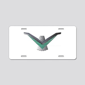 T Bird Emblem Bird Aluminum License Plate