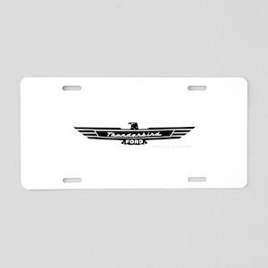 Thunderbird Emblem Aluminum License Plate