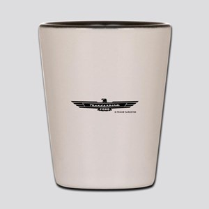 Thunderbird Emblem Shot Glass