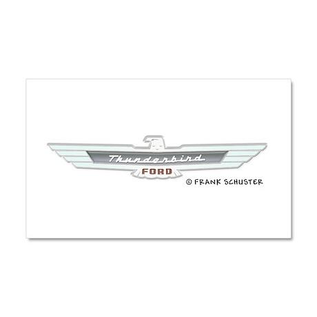 Thunderbird Emblem Car Magnet 20 x 12
