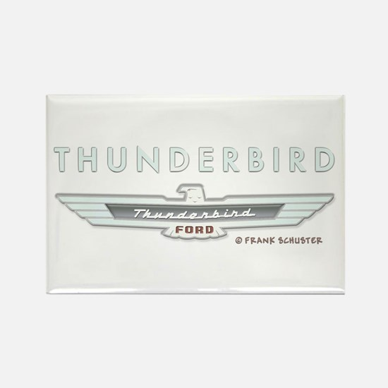Thunderbird Emblem Rectangle Magnet