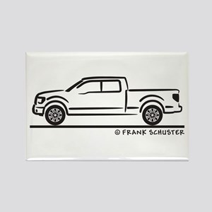 2010 Ford F 150 Rectangle Magnet