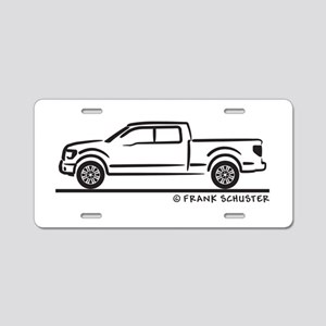 2010 Ford F 150 Aluminum License Plate