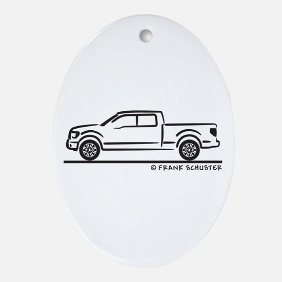 2010 Ford F 150 Ornament (Oval)