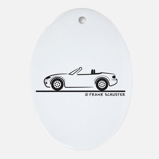 Mazda Miata MX-5 NB Ornament (Oval)