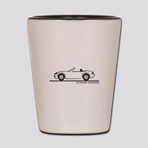 Mazda Miata MX-5 NB Shot Glass