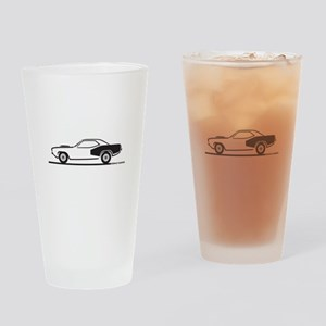 1970-74 Plymouth Hemi Cuda Drinking Glass