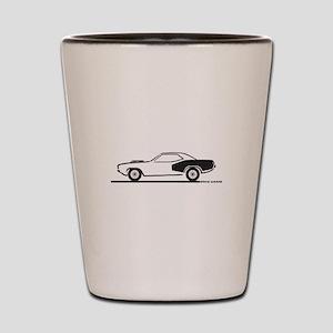 1970-74 Plymouth Hemi Cuda Shot Glass