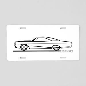 1966 Pontiac Bonneville Aluminum License Plate