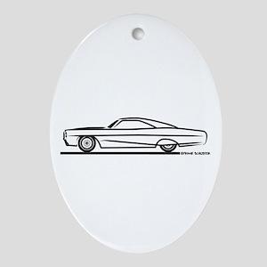 1966 Pontiac Bonneville Ornament (Oval)