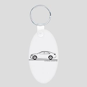 2010 Toyota Camry Aluminum Oval Keychain