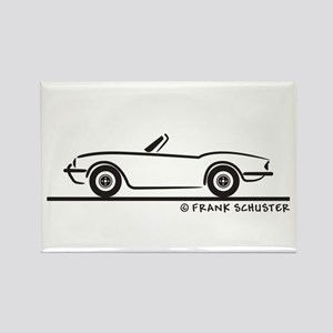 Triumph Spitfire Rectangle Magnet
