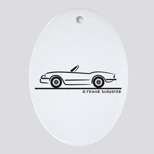 1974 Triumph Spitfire Ornament (Oval)