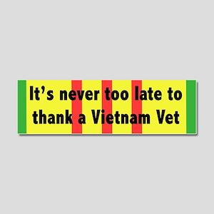 Thank a Vet Car Magnet 10 x 3