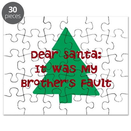 Santa: Brother's Fault Puzzle