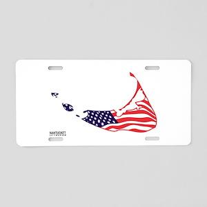 Nantucket Island MA - Map Design Aluminum License