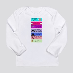 How to Tell Long Sleeve Infant T-Shirt