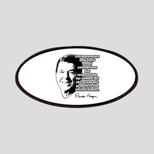 Reagan Quote Small Business Patches