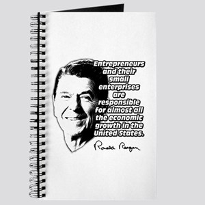 Reagan Quote Small Business Journal