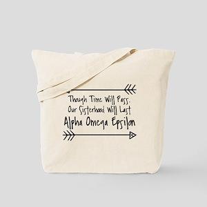 Alpha Omega Epsilon Tote Bag