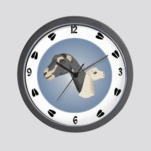 Alpine Goat Wall Clock