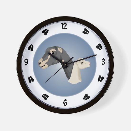 Alpine Goat Wall Clock