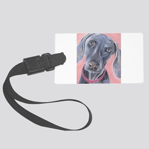 Weimaraner Luggage Tag