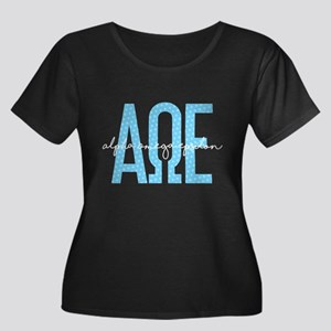 Alpha Omega Epsilon Plus Size T-Shirt