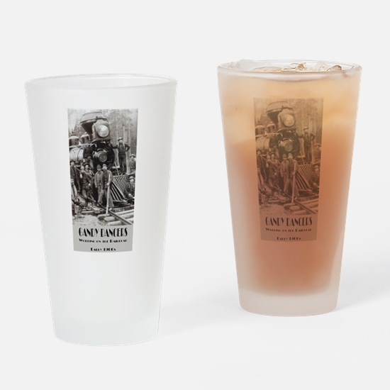 Working on the Railroad Drinking Glass