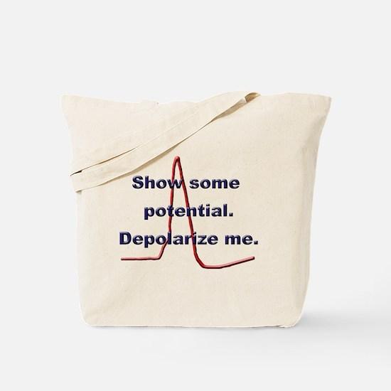 Funny Neurology Tote Bag