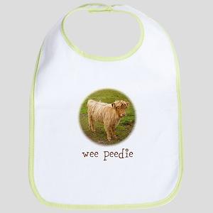 Wee Peedie (Highland Calf) Bib