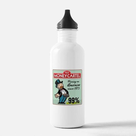Fed Parody Water Bottle