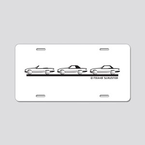 Mercedes 450 SL Type 107 Aluminum License Plate