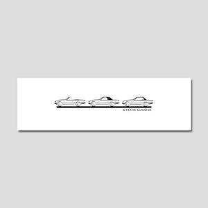 Mercedes 450 SL Type 107 Car Magnet 10 x 3
