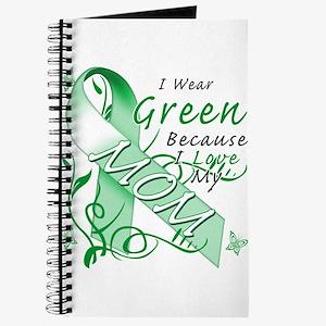 I Wear Green I Love My Mom Journal