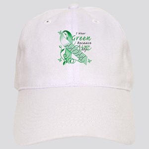 I Wear Green I Love My Mom Cap