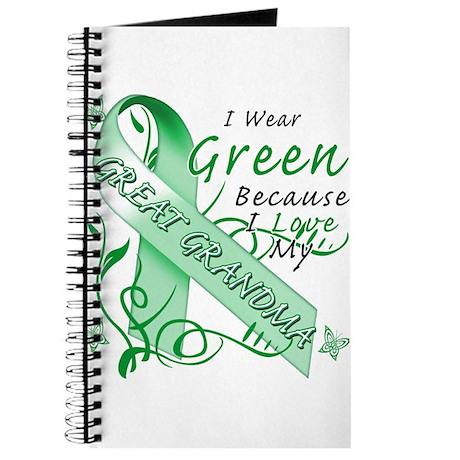 I Wear Green I Love My Great Journal