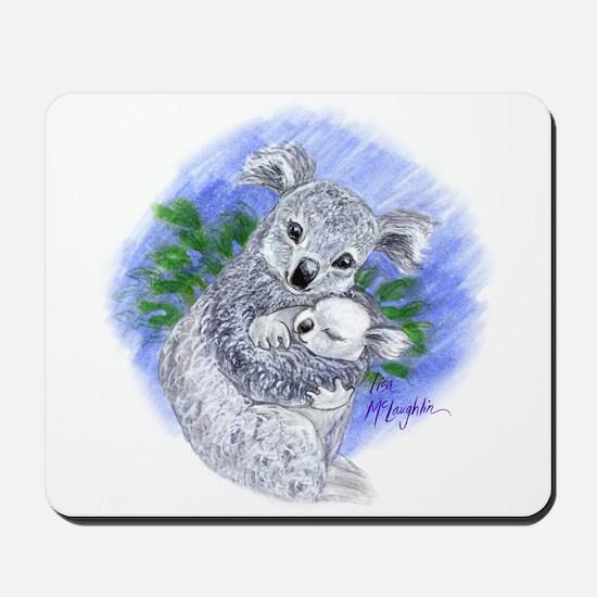 Mum & baby Koalas Mousepad