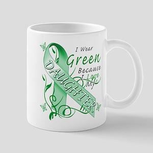 I Wear Green I Love My Daught Mug