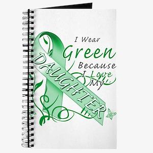 I Wear Green I Love My Daught Journal