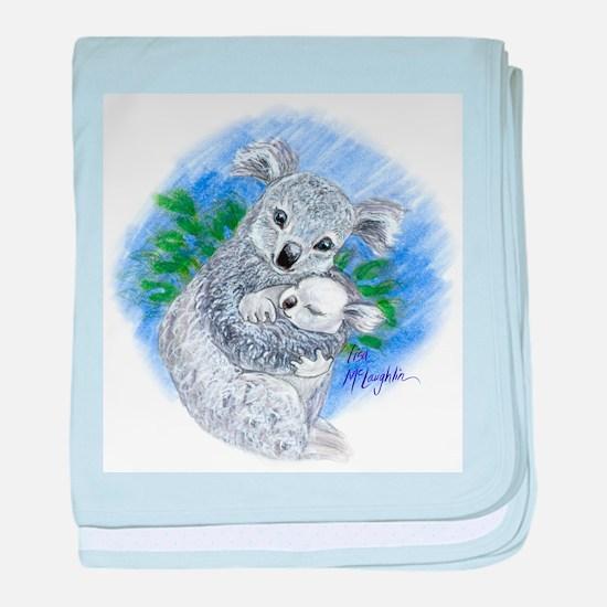 Mum & baby Koalas baby blanket