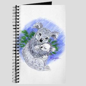 Mum & baby Koalas Journal