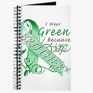 I Wear Green I Love My Brothe Journal