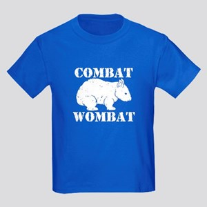 Combat Wombat Kids Dark T-Shirt