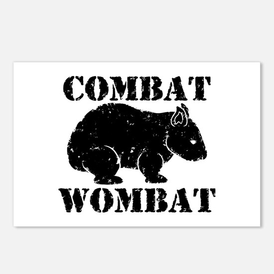 Combat Wombat Postcards (Package of 8)