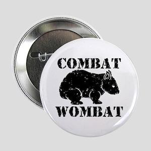 "Combat Wombat 2.25"" Button"