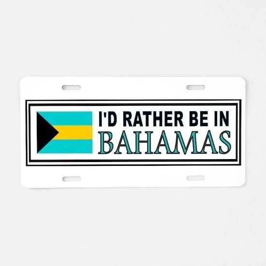 Funny Carribean Aluminum License Plate