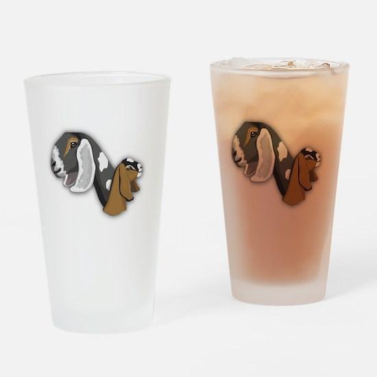 Nubian Goat Drinking Glass